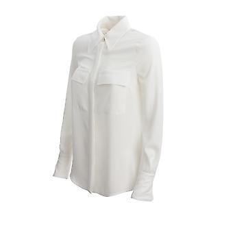 Elisabetta Franchi Ca27201e2360 Damen's weißes Nylon Shirt