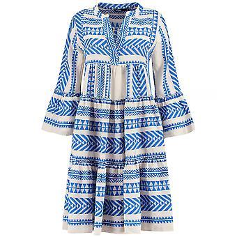 Devotion Zakar Embroidered Knee Length Dress