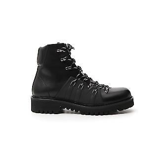 Valentino Garavani Sy0s0c66waq0no Men's Black Leather Ankle Boots
