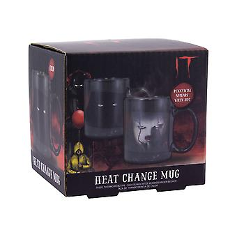 Pennywise Heat Sensitive Colour Change Mug Stephen King-apos;s IT Ideal Coffee and Tea Pennywise Heat Sensitive Colour Change Mug Stephen King-apos;s IT Ideal Coffee and Tea