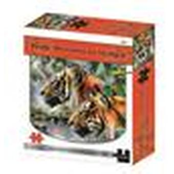 Tidig morgon i Bengal Kidicraft 2D pussel Howard Robinson Series 1000 Pieces
