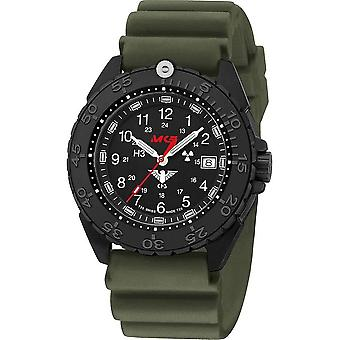 KHS Wristwatch الرجال المنفذ الأسود الصلب CR KHS. ENFBSCR. الخميس
