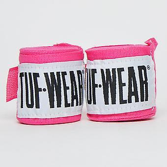 Tuf Wear Handwraps 2.5m Pink