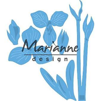 Marianne Design Creatables Cutting Dies - Petra's Amaryllis LR0539 80x93mm