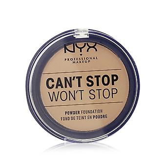 NYX Can't Stop Won't Stop Powder Foundation - # Soft Beige 10.7g/0.37oz