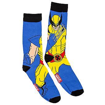 Wolverine Standing Character Crew Socks