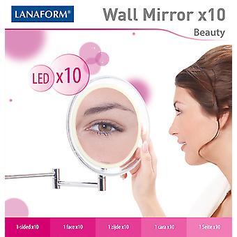 Lanaform Wandspiegel X10 Met Ledverlichting