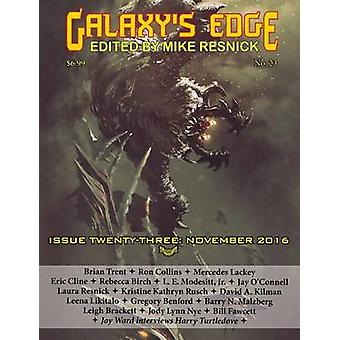 Galaxys Edge Magazine Issue 23 November 2016 by Resnick & Mike