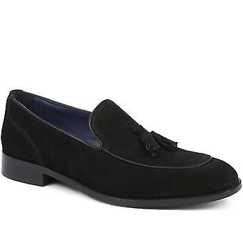 Jones Bootmaker Mens Leather Tassel Loafer
