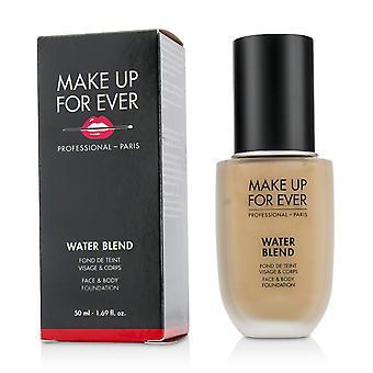 Water blend face & body foundation # r370 (medium beige) 217301 50ml/1.69oz