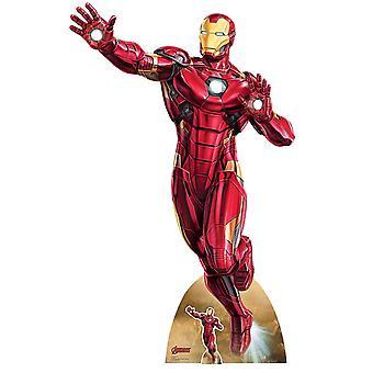 Iron Man Take Off Marvel Legends officiële kartonnen cutout / Standee