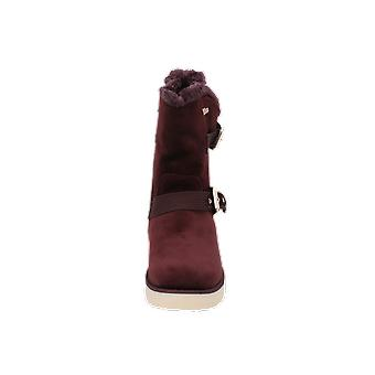 S. Oliver N/A Women's Boots Purple Lace-Up Boots Winter