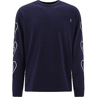 Billionaire B20280navy Men's Blue Cotton Sweater