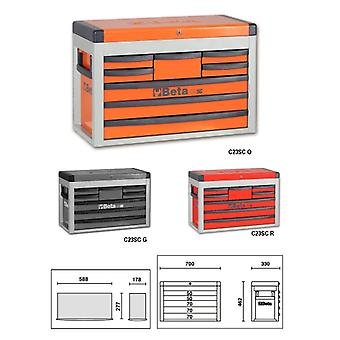 Beta 023000512 C23 Sc-G Portable Tool Chest With Eight Drawers
