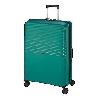 d&n Travel Line 4000 Trolley M, 4 wielen, 66 cm, 69 L, groen