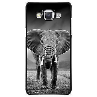 Bjørnberry Shell Samsung Galaxy A5 (2015) - Sort/hvid elefant