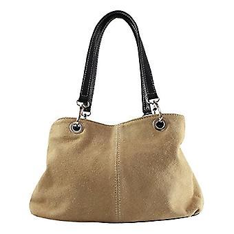 Good Bags 10028 Women's Hand Bag Grey (Fango) 32x20x14 cm (W x H x L)