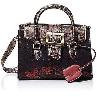 Laura Vita 2984 - Red Woman handbag (Rouge) 13x20x28 cm (W x H L)