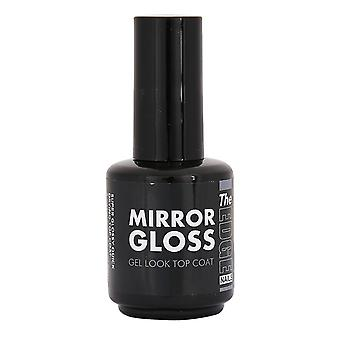 The edge mirror gloss top coat
