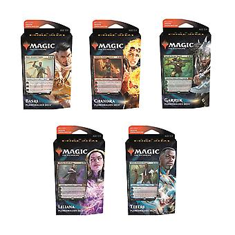 Magic the Gathering Core Set 2021 Planeswalker Complete Set 5-P.