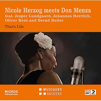 Dearie / Ellington / David / Roberts / Herzog - Nicole Herzog Meets Don Menza [CD] USA import