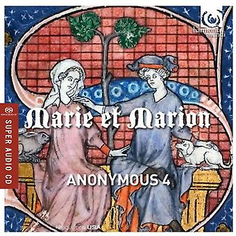 Anonymous 4 - Marie Et Marion Motets & Chansons From 13th [SACD] USA import