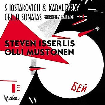Shostakovich & Kabalevsky: Cello Sonatas [CD] USA import