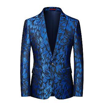 Allthemen Men's Embroidered Banquet Suit Jacket 6 Colors