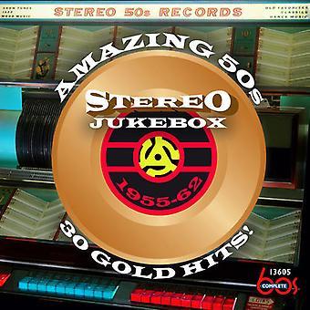 Various Artist - Amazing 50s Stereo Jukebox [CD] USA import