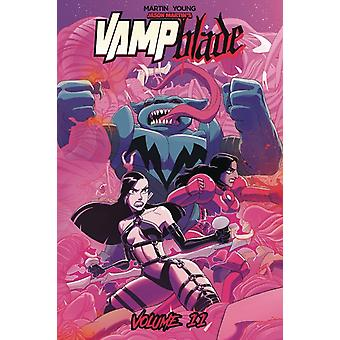 Vampblade Volume 11 Battle Friends door Jason Martin & Door kunstenaar Marco Maccagni & Bewerkt door Nicole D Andria