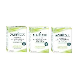 Acniregul 2 + 1 free solution against pimples 60 capsules