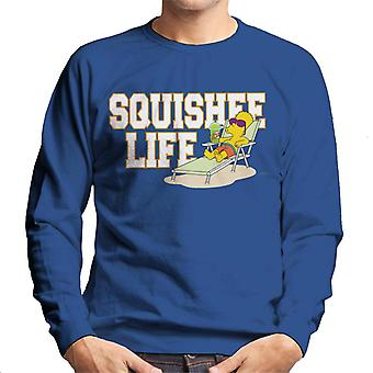 The Simpsons squishee Life Bart mænd ' s sweatshirt