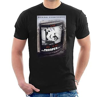 Original Stormtrooper The Trooper Show Parody Men's T-Shirt