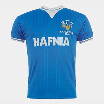 Score Draw Everton FC 1984 Home Jersey Mens