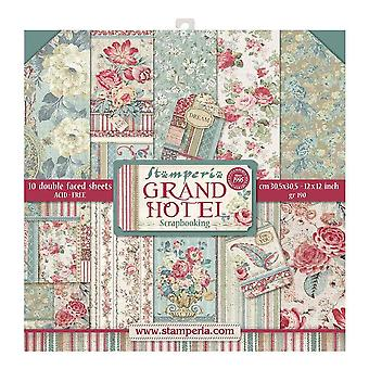 Grand Hotel 12x12 Inch Paper Pack (SBBL57)