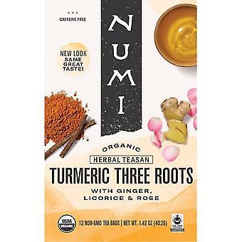 Numi Organický čaj turmeric tři kořeny