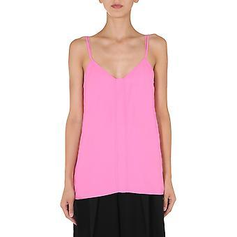 Bottega Veneta 629737vkug05004 Kvinder's Pink Viscose Top