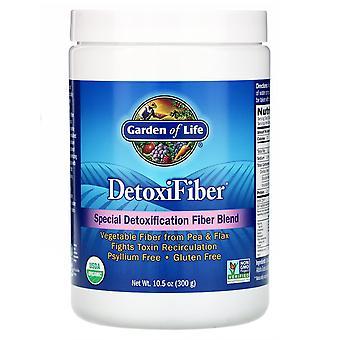 Garden of Life, DetoxiFiber, Mezcla Especial de Fibra de Desintoxicación, 10.5 oz (300 g)