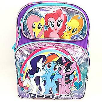 Backpack - My Little Pony - Rainbow Dash Besties Girls New 169811