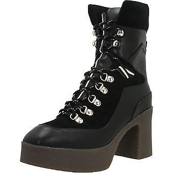 Noa Harmon Booties 8450n Black Color