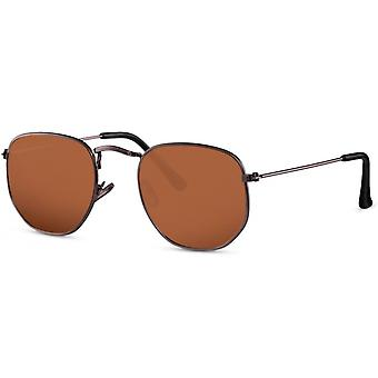 Sunglasses Unisex Grey/Brown (CWI2417)