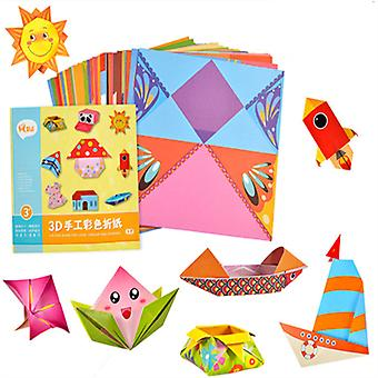 3d Origami Cartoon Animal Book Toy - Diy Paper Art Baby Early Learning