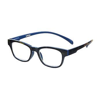 قراءة نظارات Unisex Wayline-القرد havannablue قوة +1.00 (le-0167D)