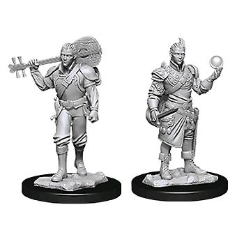 D&D Nolzur's Marvelous Unpainted Minis Macho Half-Elf Bard