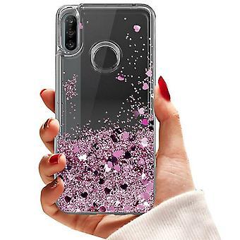 Huawei P30 Lite - Flydende Glitter 3d Bling Shell sag