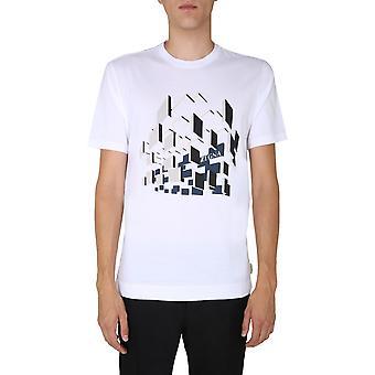 Z Zegna Vv372zz630f6f3 Men'camiseta de algodão branco