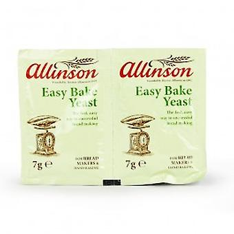 Allinsons - einfach backen Hefe Sachets