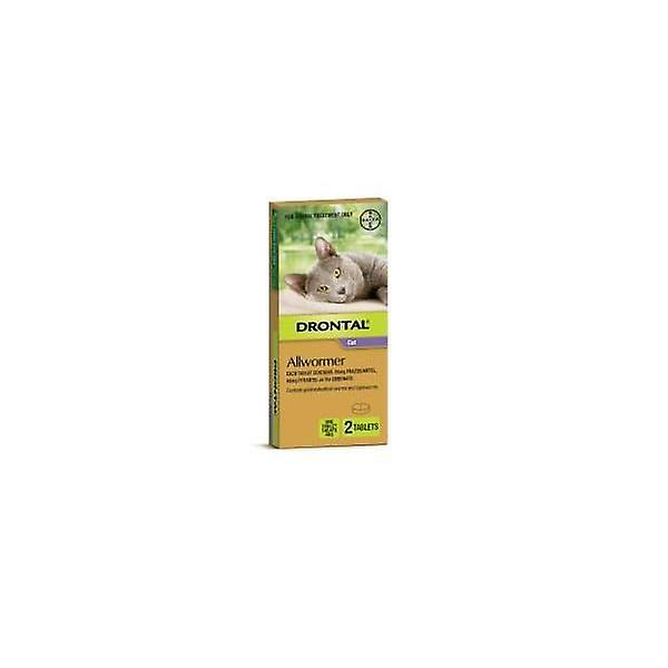 Drontal Cat Allwormer 4kg 2's