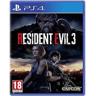 Resident Evil 3 Remake PS4 Peli