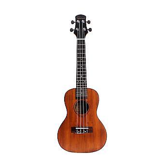 24inch Rosewood Ukulele Carved Guitar 4 String Guitar for Beginners